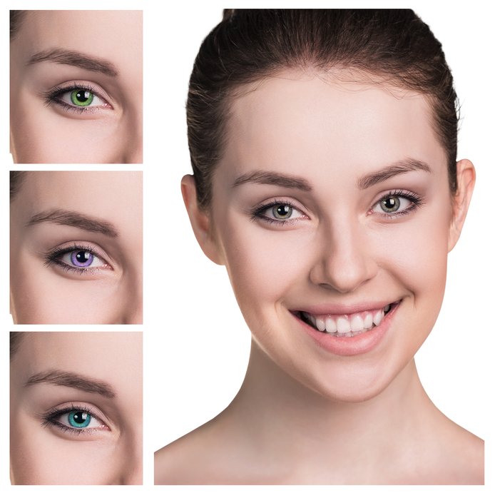 soft colored contact lenses article